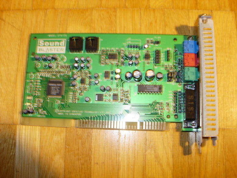ISA 16-bit sound card, CT4710